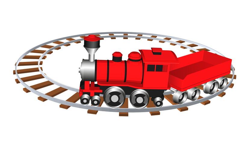 デフォルメ機関車